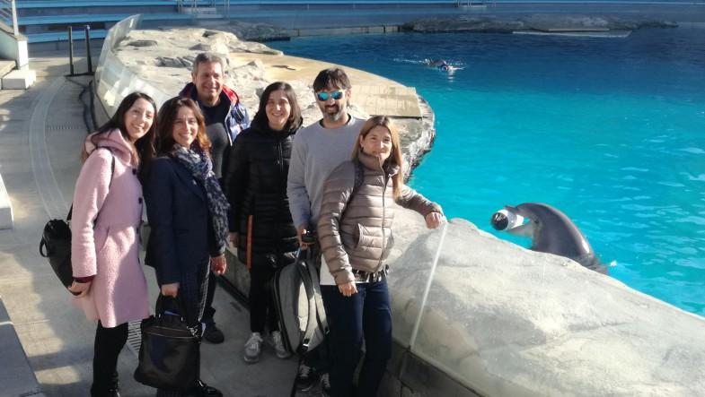 Dall'Argentina in visita ai parchi Costa Edutainment