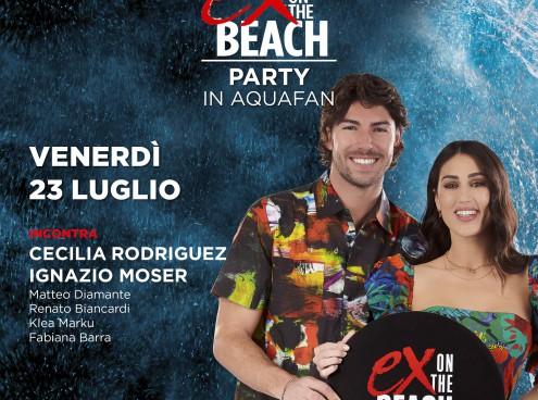 Cecilia Rodriguez, Ignazio Moser e MTV domani all'Aquafan!