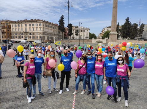 Costa Edutainment a Roma per dire 'no' al 1° Luglio