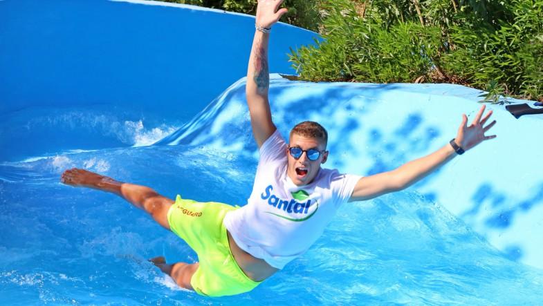 Santal all'Aquafan!