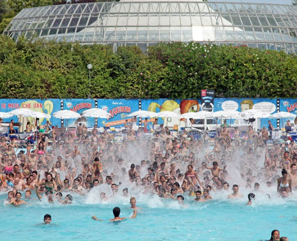 The water park's signature attraction